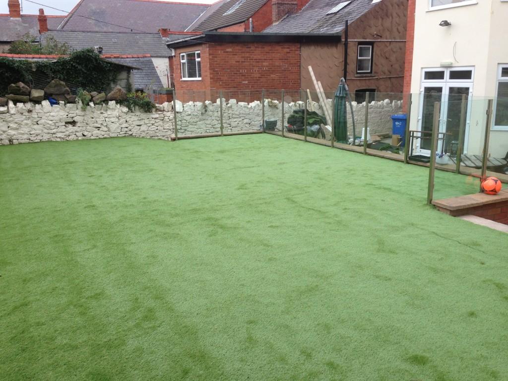artificial grass prestatyn north wales nw contractors