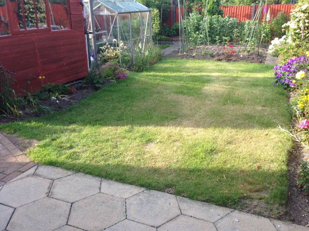 Low maintenance gardens north wales nw contractors for Large low maintenance garden